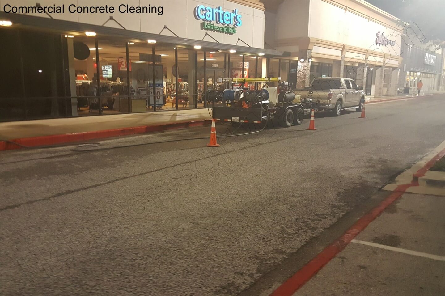 Concrete Cleaning – Houston Soft Wash