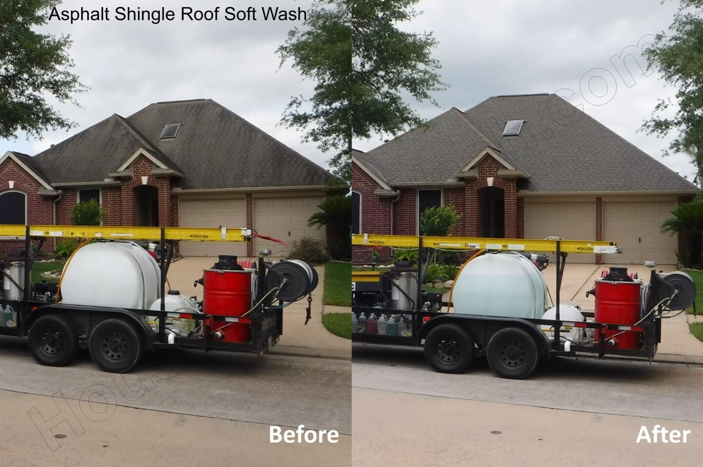 Roof Cleaning – Can You Pressure Wash A Shingle Roof